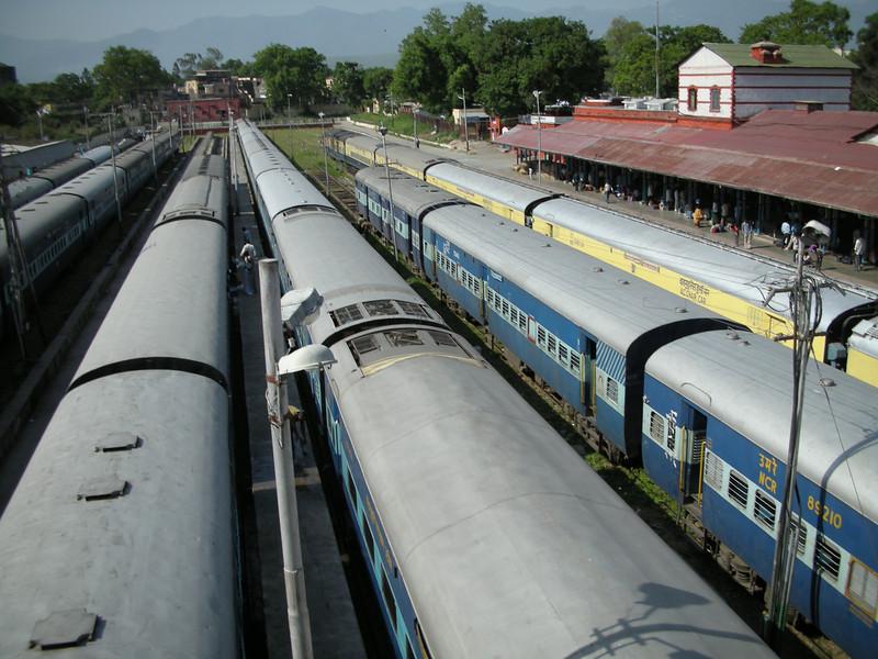 Dehradun: Train station