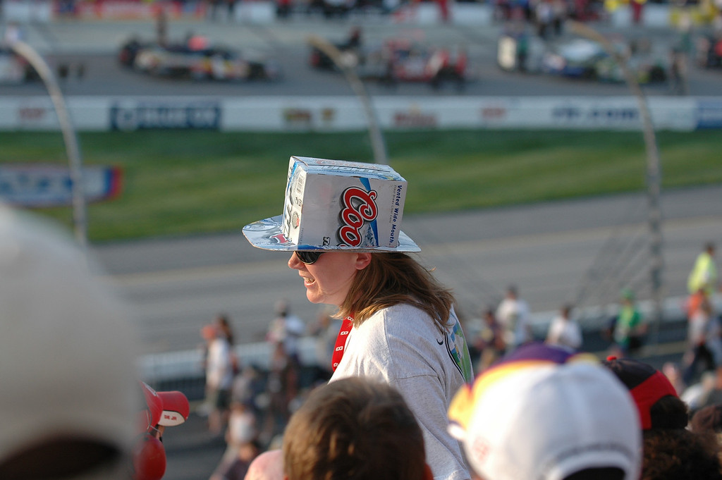 Coors box hat
