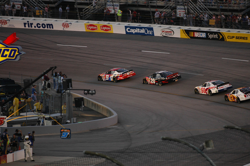 First lap of the Lipton Tea 250
