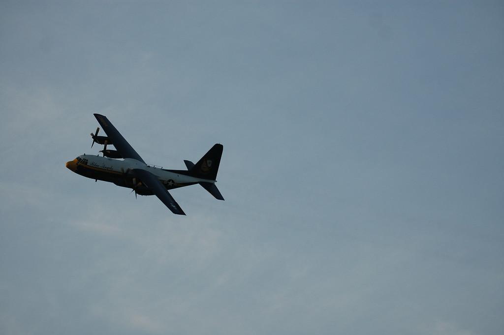 Air Force Blue Angels C130