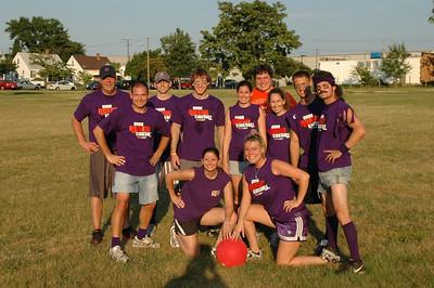 6/11/2008 - Kickball 2008 Brian, Jon, Scott, Jesse, Tima, Katie, Darcie, BK, Alyah, Jer, Tim