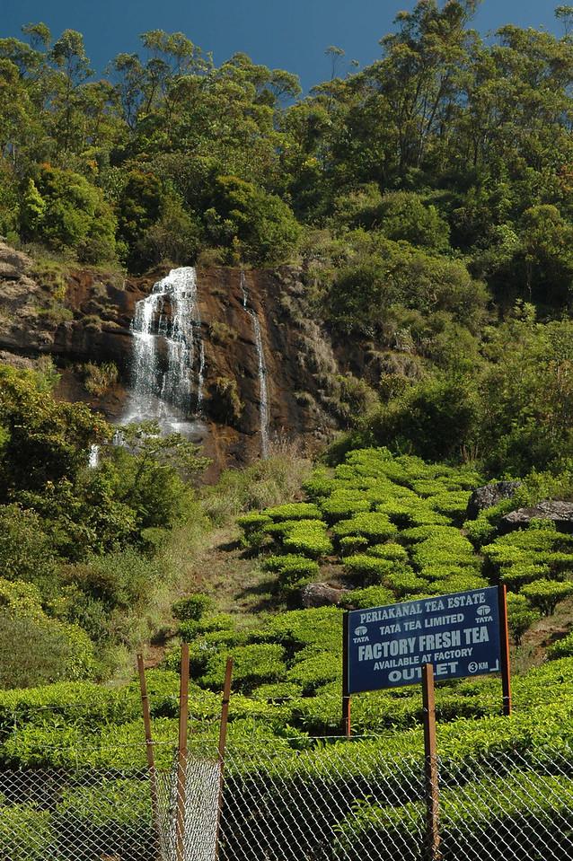 Waterfall near Munnar