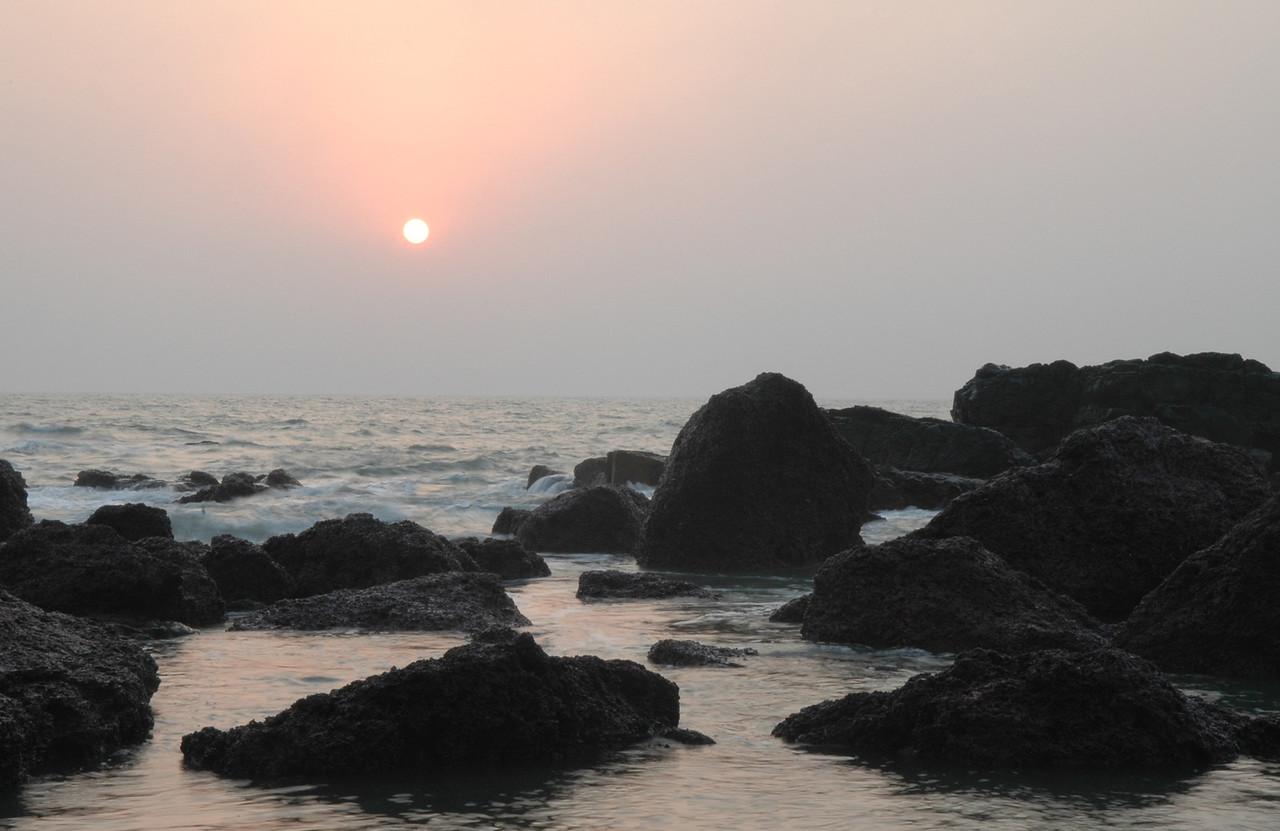 Sunset near Arambol