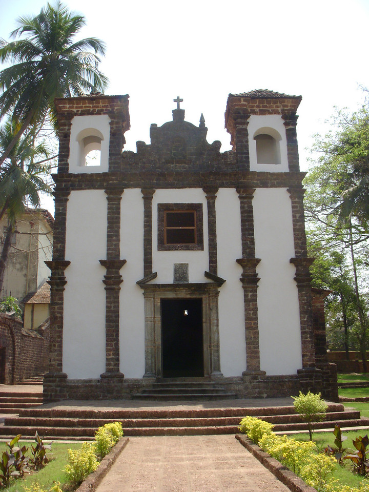 The Chapel of St. Catherine in Old Goa