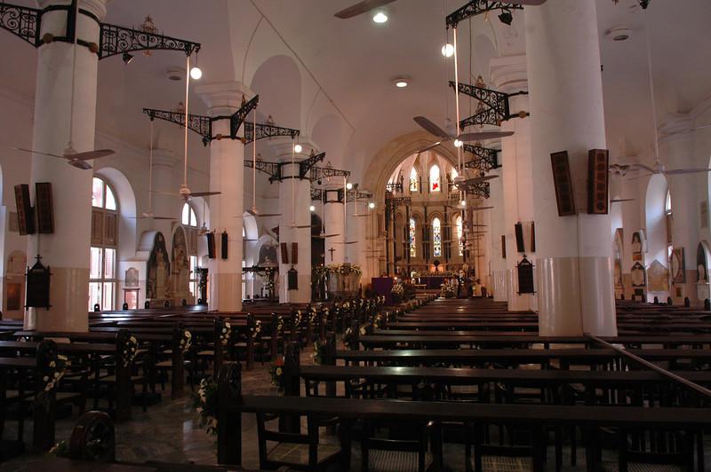 St. Thomas' Cathedral in Mumbai