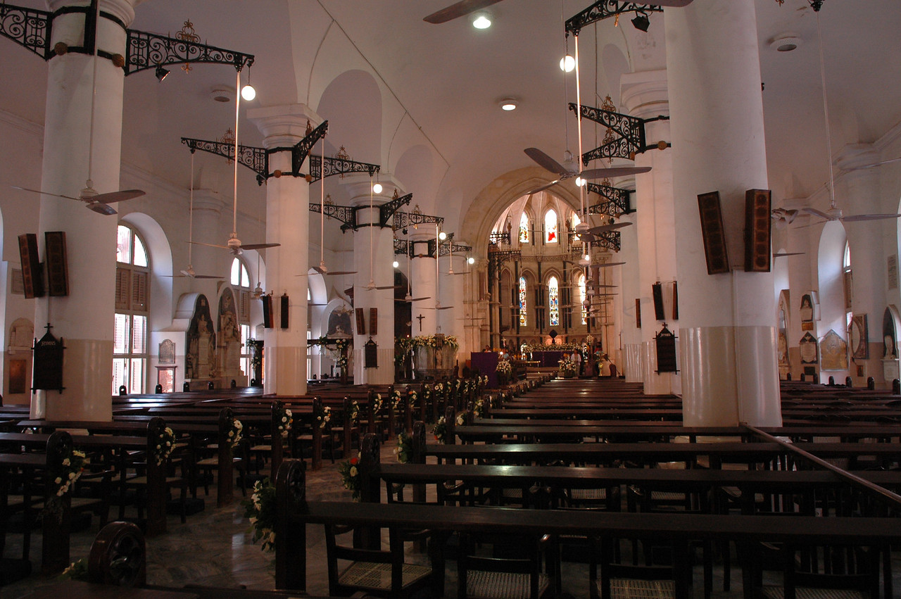 St. Thomas' Cathedral in Mumbai