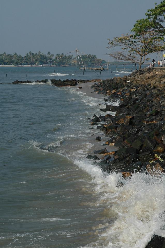 Shoreline at Fort Cochin