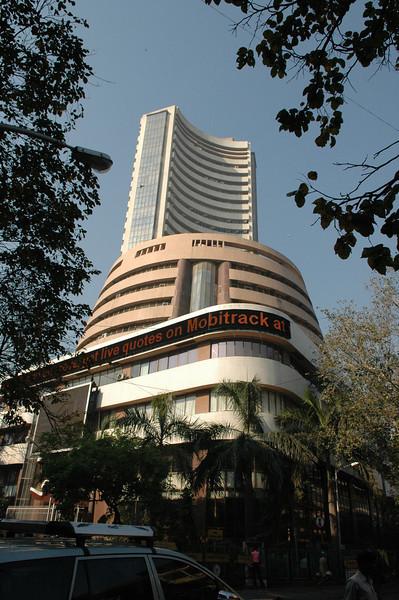Mumbai Stock Exchange building