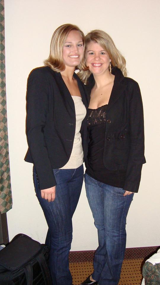 Stephanie and Jennifer