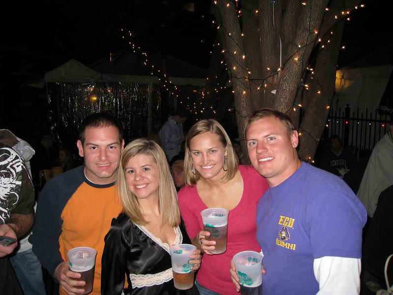 Jon, Jennifer, Stephanie and JG celebrating JG's birthday at Silky O'Sullivan's