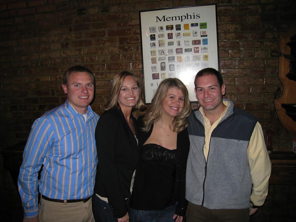 JG, Stephanie, Jennifer and Jon on New Year's Eve