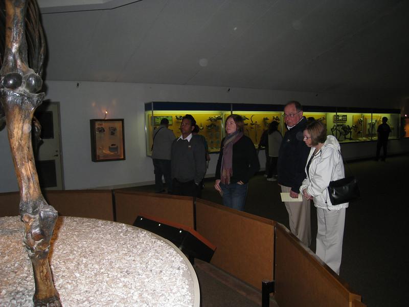 Dilip, Cheryl, Stan, Pat at La Brea Tar Pits