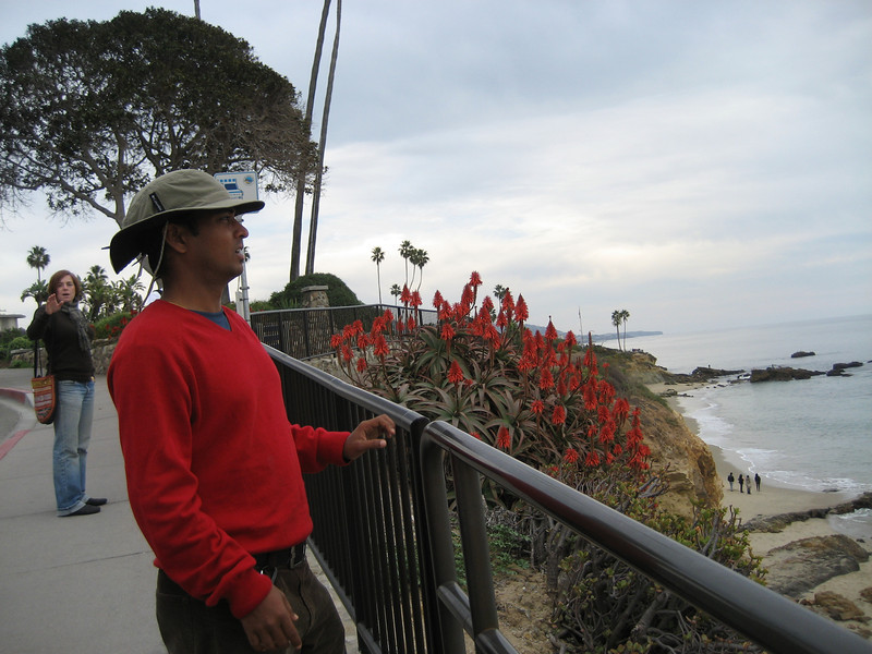 Dilip in Laguna Beach