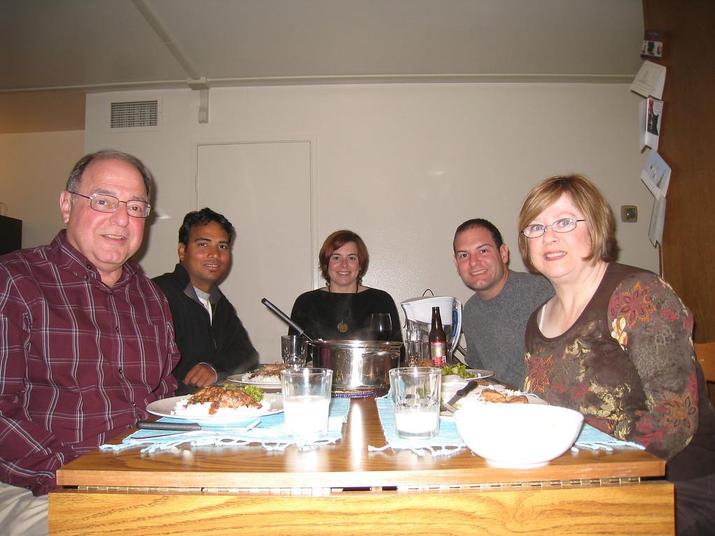 Stan, Dilip, Cheryl, Jon, Pat