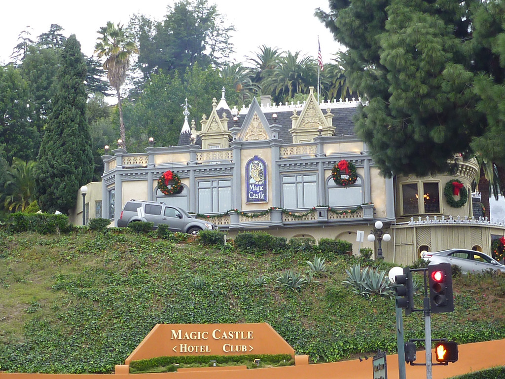 Magic Castle in Hollywood.