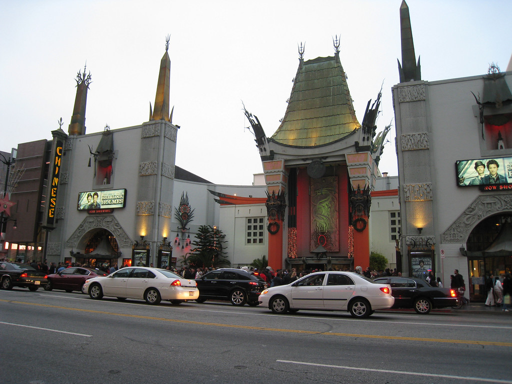 Chinese Theater on Hollywood Boulevard