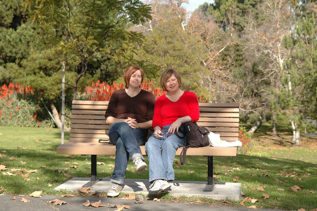 Cheryl and Pat