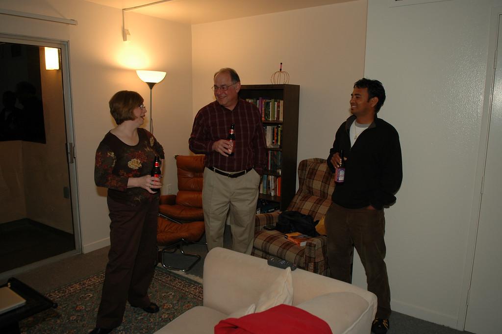 Pat, Stan, Dilip