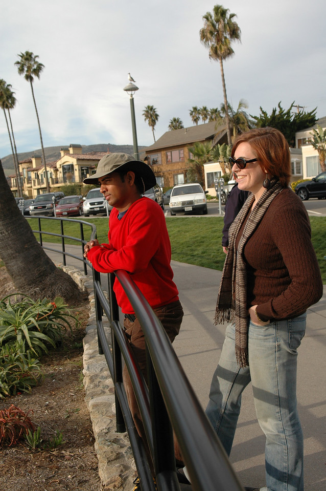 Dilip and Cheryl in Laguna Beach