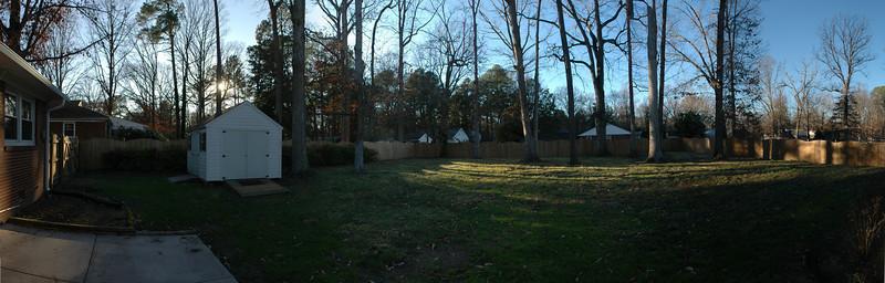 12/29/2008 - Backyard
