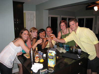 6/13/2009 - Housewarming party, Cameron Chandler, Quan, Jon Deutsch, Cheryl Deutsch