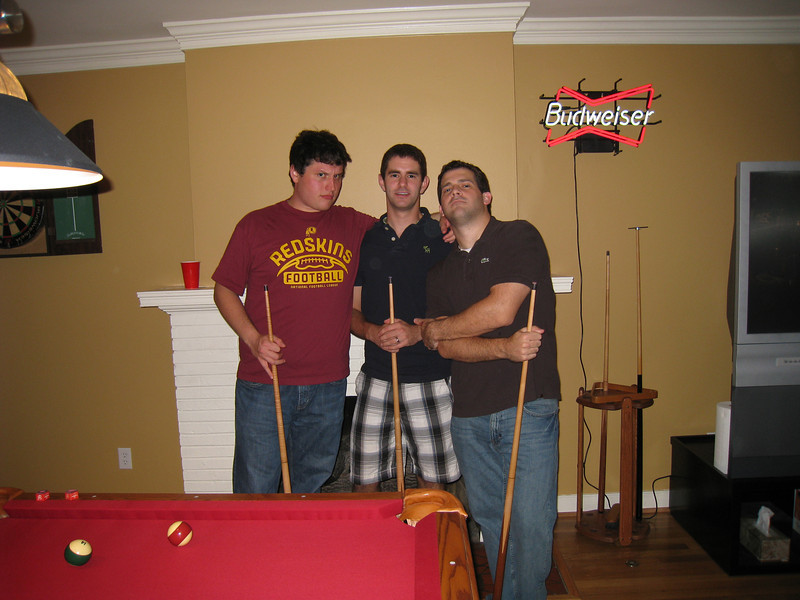 10/9/2009 - Friday Happy Hour - Bryan Kelley, Jonathan Turfboer, Dan G.