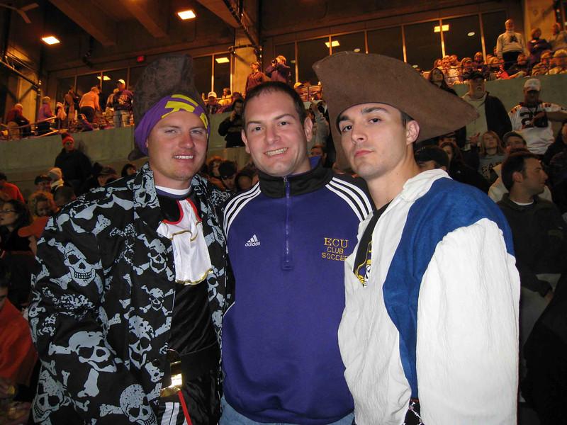 11/5/2009 - ECU vs VT - JG Ferguson, Jon Deutsch, Chris Webster