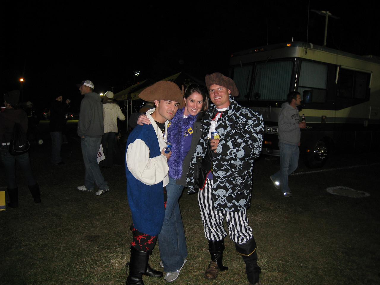 11/5/2009 - ECU vs VT - Chris Webster, Beth McChesney, JG Ferguson