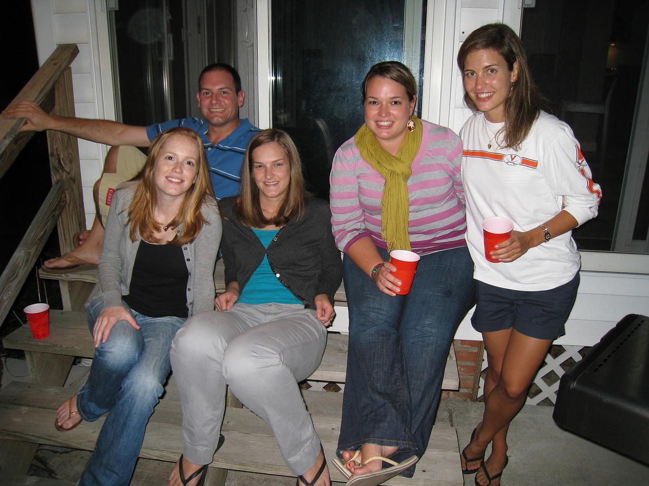 10/9/2009 - Friday Happy Hour - Lauren Tipton, Jon Deutsch, Jesse S, Jen Kelley, Jessica Smith