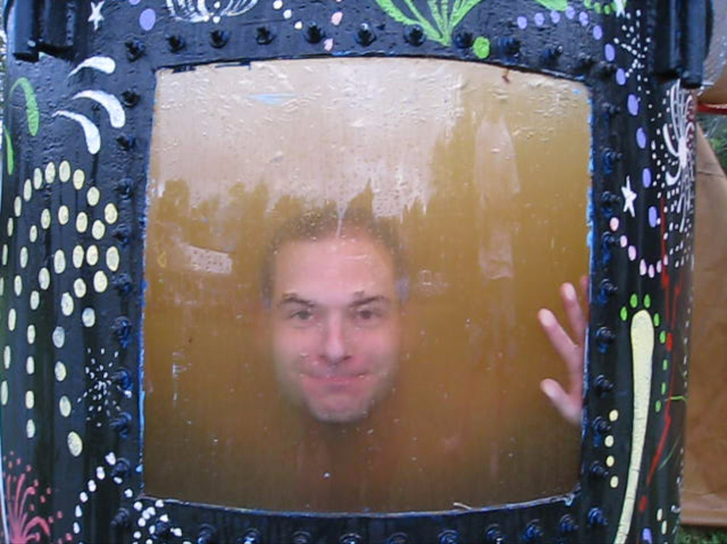 8/22/2009 - Jon Deutsch in the dunk tank