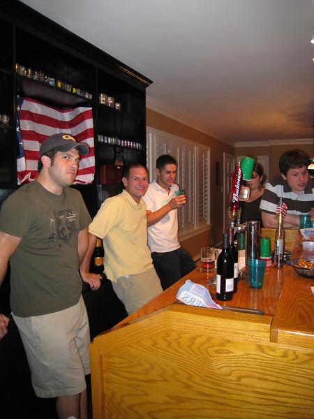 6/13/2009 - Housewarming Party - Dan G, Jon Deutsch, Jonathan T
