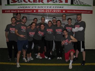 2/26/2009 - Dodgeball team photos - Jon Deutsch, Jason Slater, Aaron Grant, Kristin, Arthur, Kristin Schmitt, Aubrey, Leah, Ryan, Claire, Wren, Ryan, Andrea, Bryn