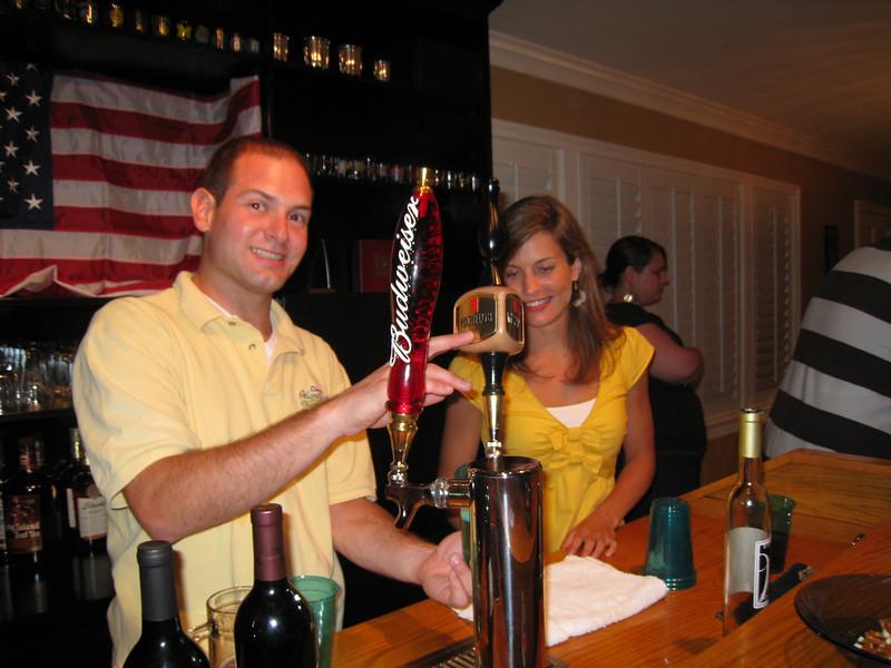 6/13/2009 - Housewarming party - Jon Deutsch, Jessica Smith