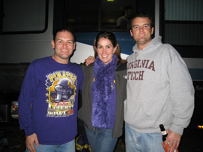 11/5/2009 - ECU vs VT - Jon Deutsch, Beth McChesney, Chris Shoup