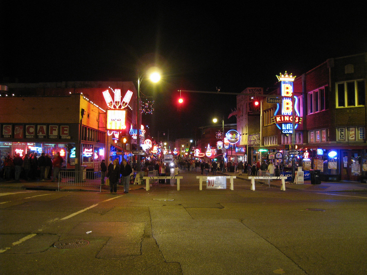 Beale Street on New Years day