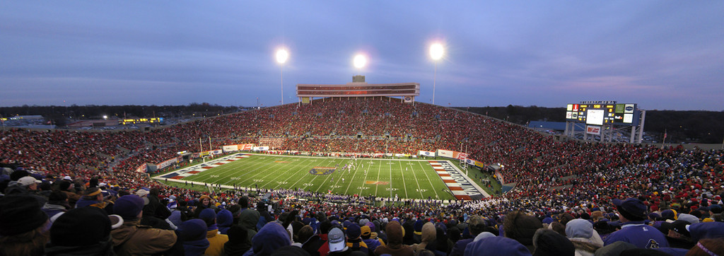 Liberty Bowl Stadium panoramic