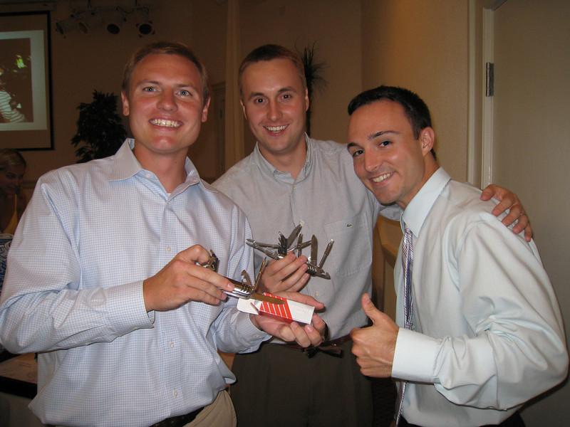 JG, Chris, Chris