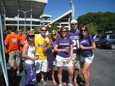 9/18/2010 ECU @ VT - Sarah, Jon, Jen, Cat, Preston, Beth