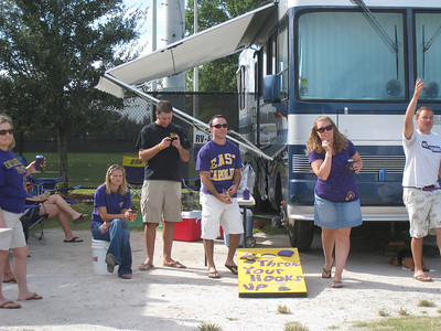 9/5/2010 - ECU vs. Tulsa - Stephanie, Preston, Chris, Lauren, JG