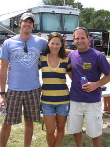 9/5/2010 - ECU vs. Tulsa - Danny, Kelly, Jon Deutsch