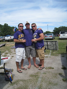 9/5/2010 - ECU vs. Tulsa - Chris, Warren, Robbie