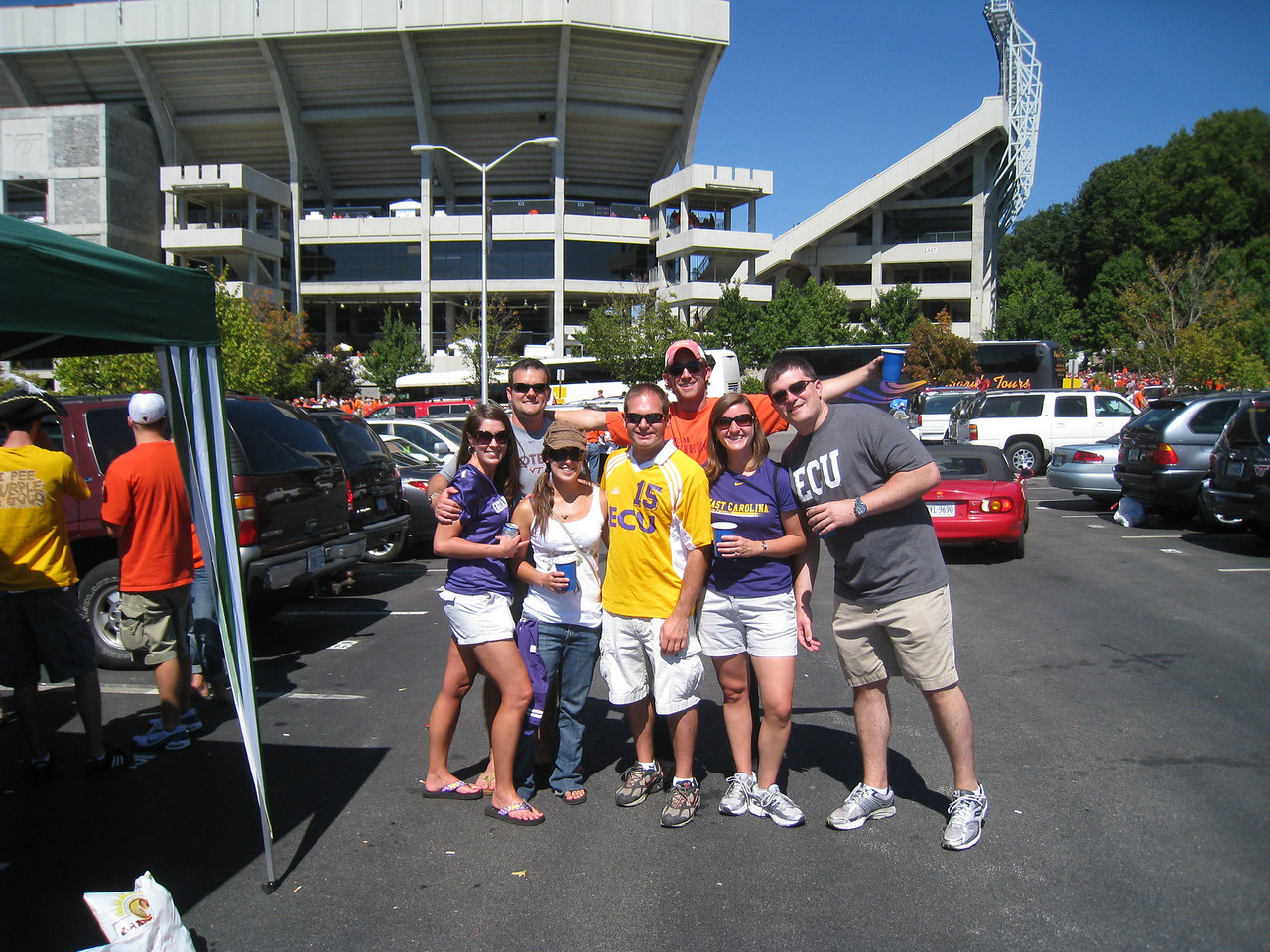9/18/2010 ECU @ VT - Beth, Chris, Sarah, Jon, Cat, Mike