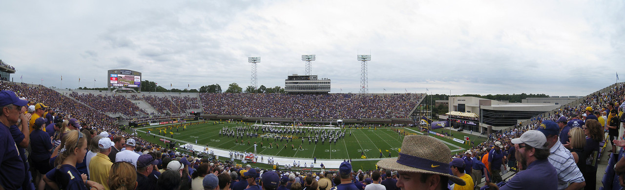 9/11/2010 - ECU vs. Memphis - panoramic of ECU's football stadium