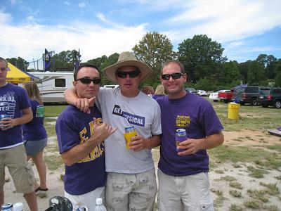 9/5/2010 - ECU vs. Tulsa - Chris, JG, Jon