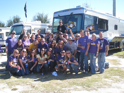 10/23/2010 ECU vs Marshall - Warren, Missy, Stephanie, Lauren, Emily, Steve, Chris, Robbie, Staci, JG, Jen, Billy, Kristin, Anne-Stewart, Jon