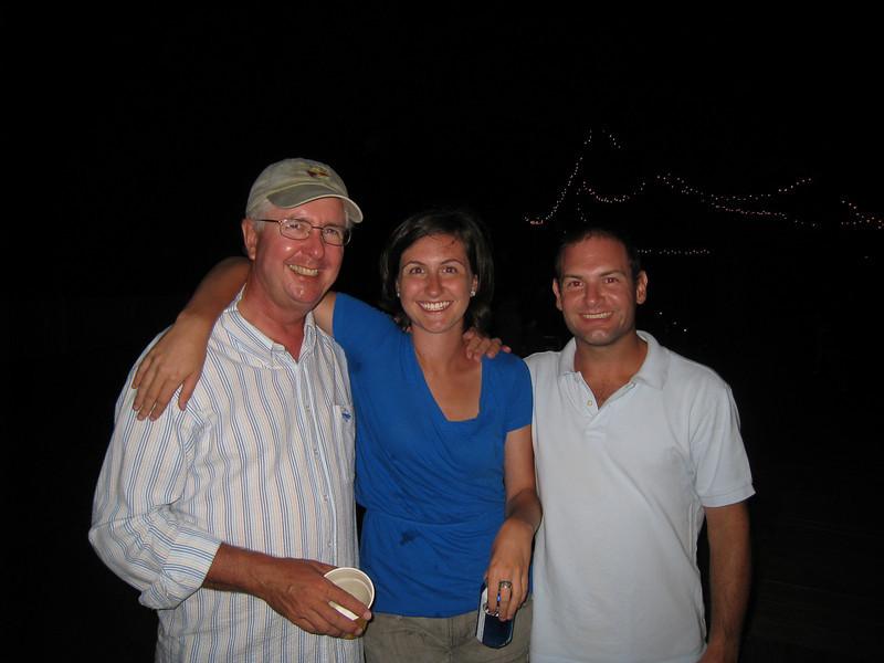 8/14/2010 - FBYC Annual One Design Regatta - Tom, Meg, Jon