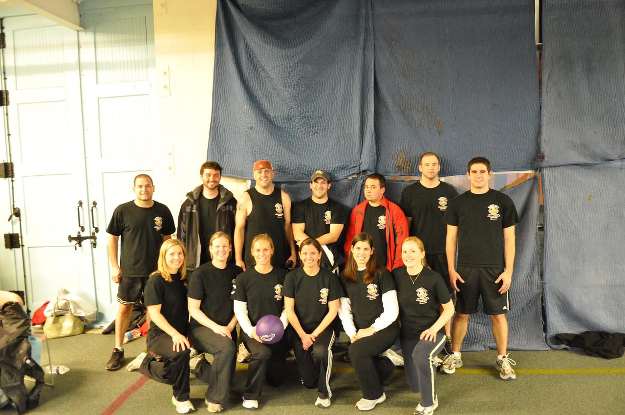 2/25/2010 - Dodgeball - Jon, Julia, Patrick, Erin, Stacy, Brad, Dan, Tina, Lauren, Jonathan