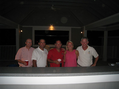 9/4/2010 - Stingray Point Regatta bartenders - Jon, Maria, Mike