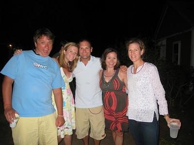 7/3/2010 - 4th of July - Malcolm Cobb, Eliza, Jon Deutsch, Caroline, Rendall
