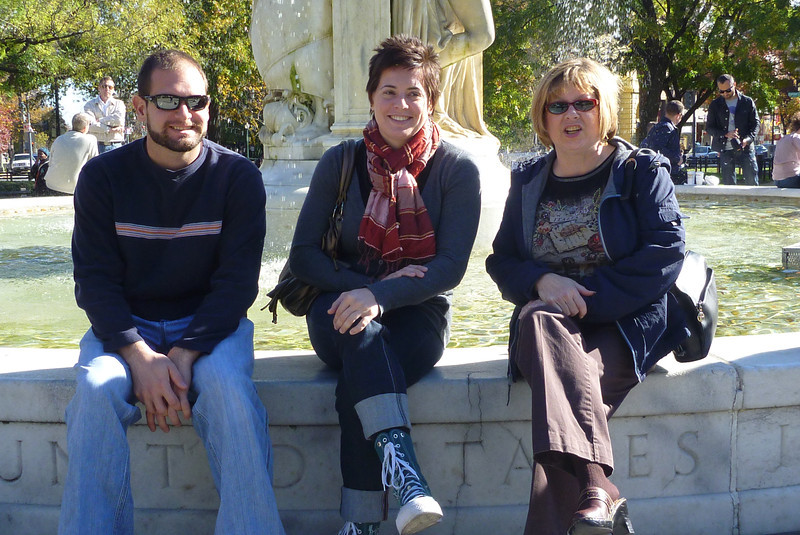 11/14/2010 - Washington DC - Jon Deutsch, Cheryl, Pat